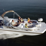 Hurricane Pontoon Boat