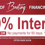 3.99% Summer of Boating Financing Event