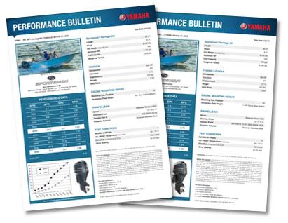 Sportsman Heritage 251 Center Console Yamaha Performance Bulletin