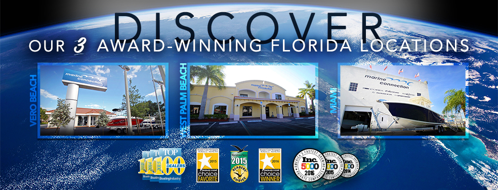 South Florida Boat Dealership Marine Connection West Palm Beach Miami Vero Beach