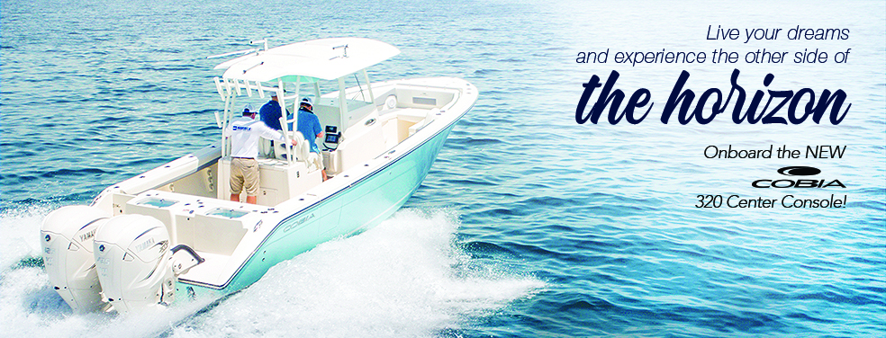 The new 2020 Cobia Center and Dual Consoles are available at Marine Connection West Palm Beach Miami Vero Beach Fort Lauderdale and Islamorada!