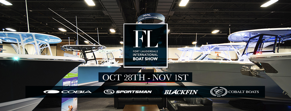 The new 2020 Blackfin Boats are available at Marine Connection West Palm Beach, Fort Lauderdale and Vero Beach !