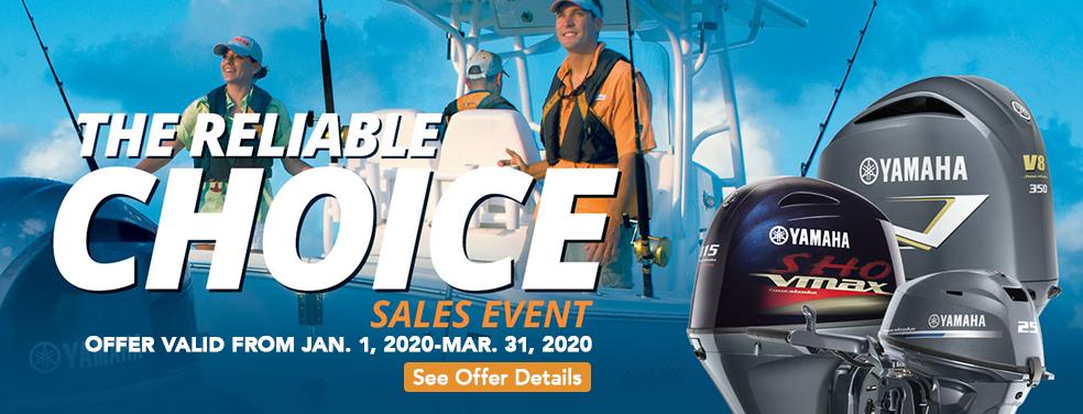 Yamaha Reliable Choice Sales Event