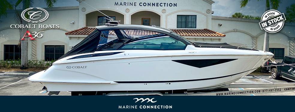 The new 2020 Cobalt Boats are available at Marine Connection West Palm Beach Miami Vero Beach Fort Lauderdale Islamorada and Stuart!
