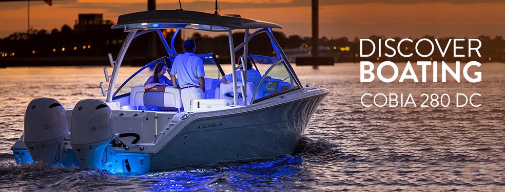 New Cobia 280 Dual Console Boat