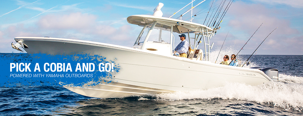 The new 2019 Cobia Center and Dual Consoles are available at Marine Connection West Palm Beach Miami Vero Beach Fort Lauderdale and Islamorada!